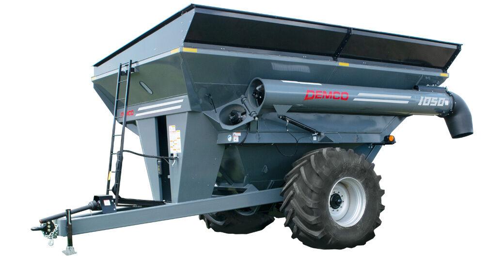 1050 bushel Demco Gray Grain Cart