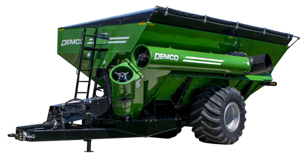 1100 Green Grain Cart