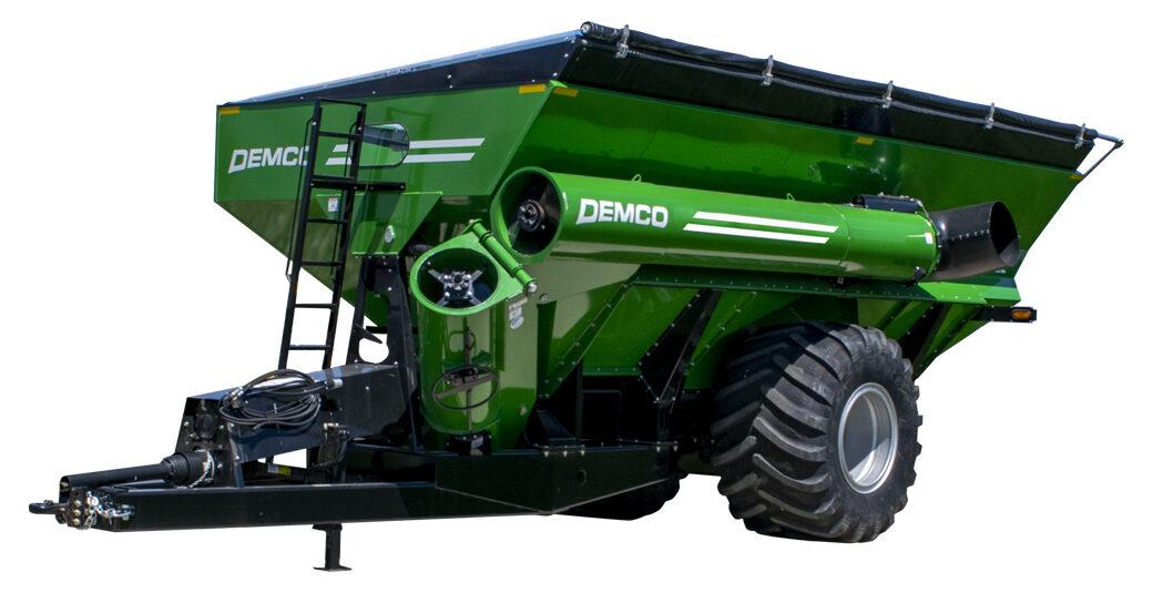 1100 Green Grain Cart