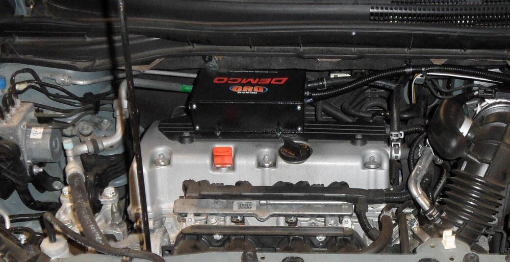 DUO installed on 2013 Honda CRV