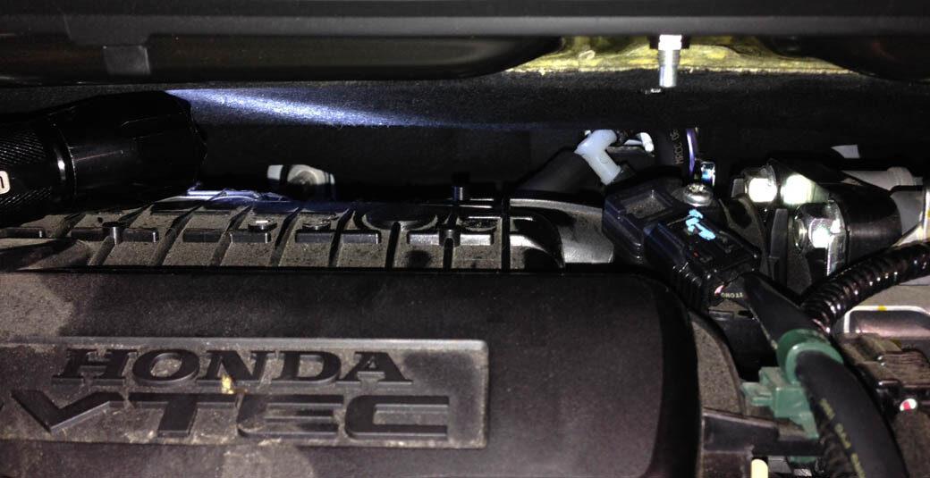 Vacuum Connection on 2013 Honda CRV