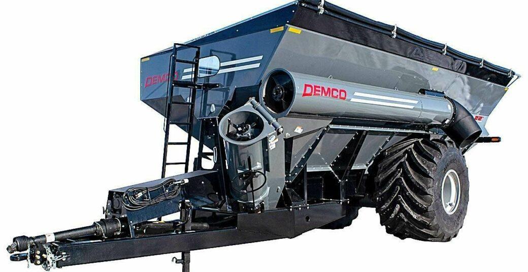 1300 Gray Grain Cart