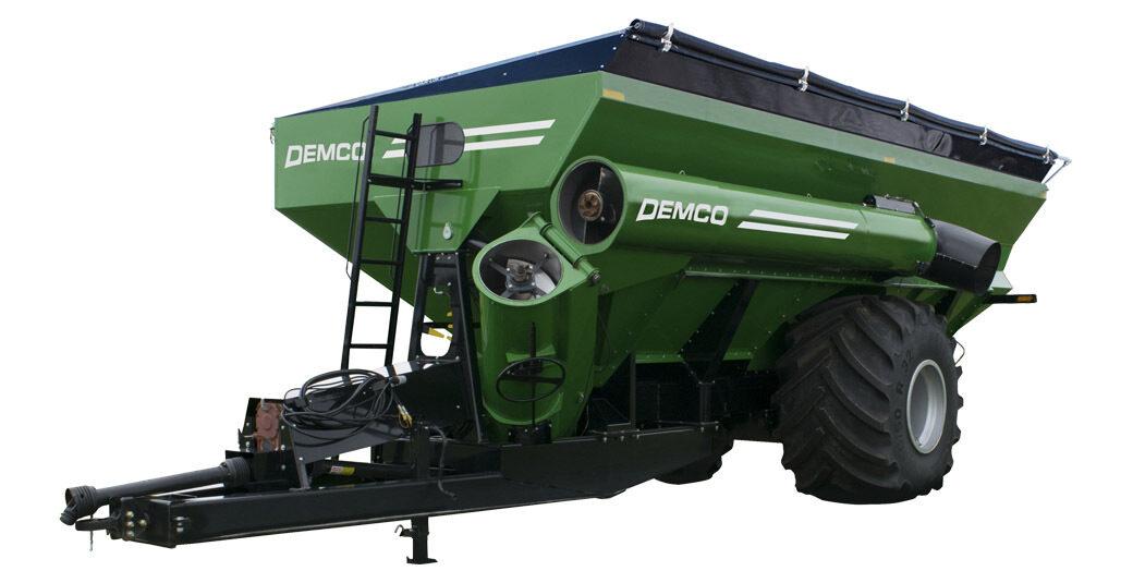 1300 Green Grain Cart