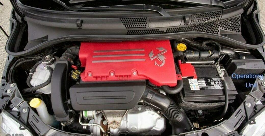 15 Fiat 500c Engine