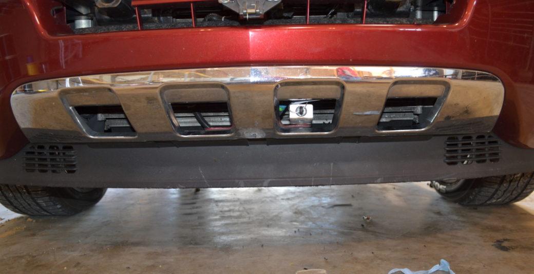 2008 Vue Front Connection