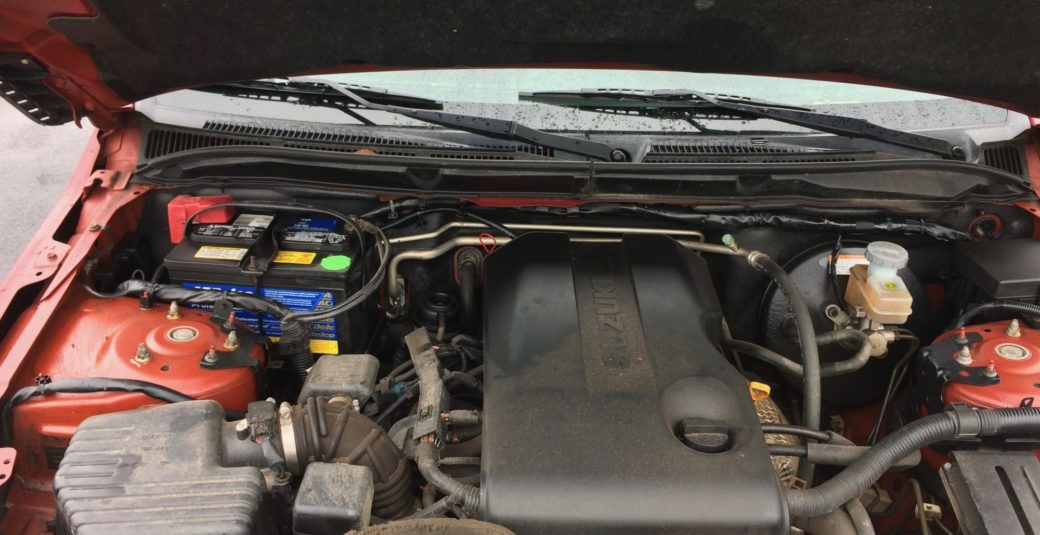 2010 Grand Vitara Engine Bay