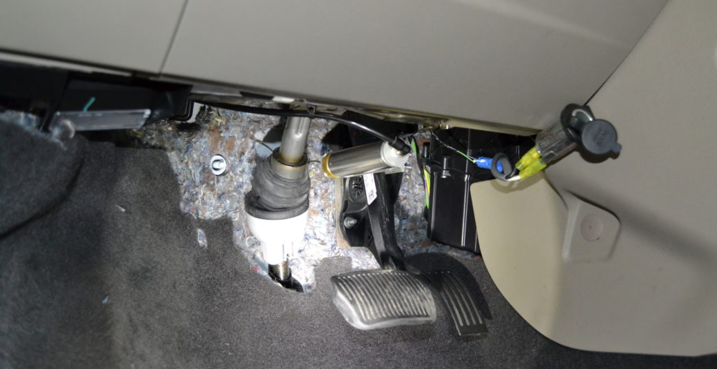 2012 Focus Cylinder Mounted