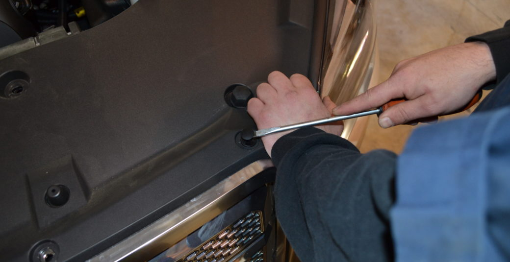 2014 Acadia Removing Radiator Shroud