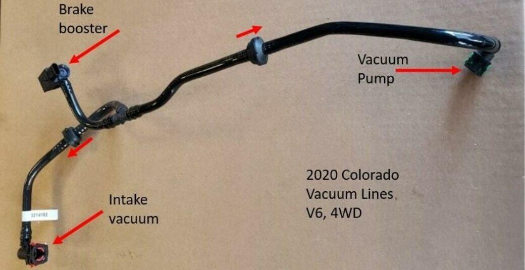 2020 Colorado Vaccum Line