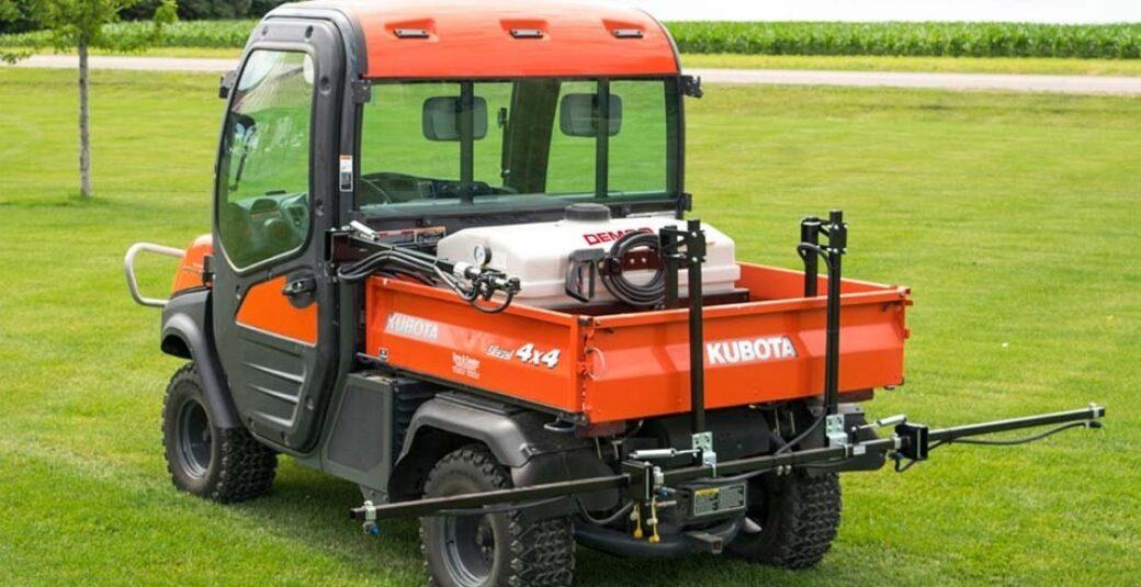 40 gallon ATV sprayer in Kubota Side-by-side