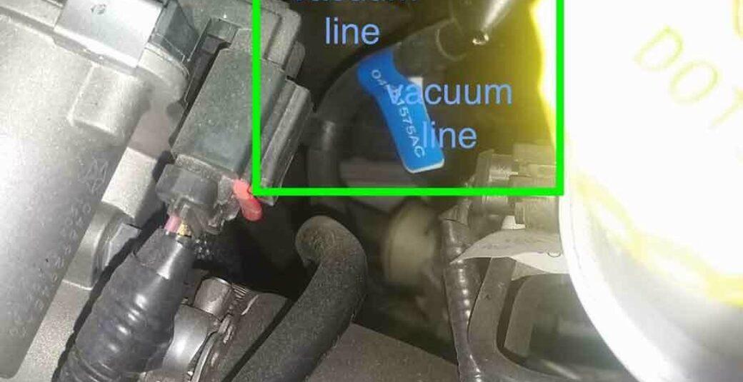 500 Fiat Fiat 500 Abarth vacuum conn