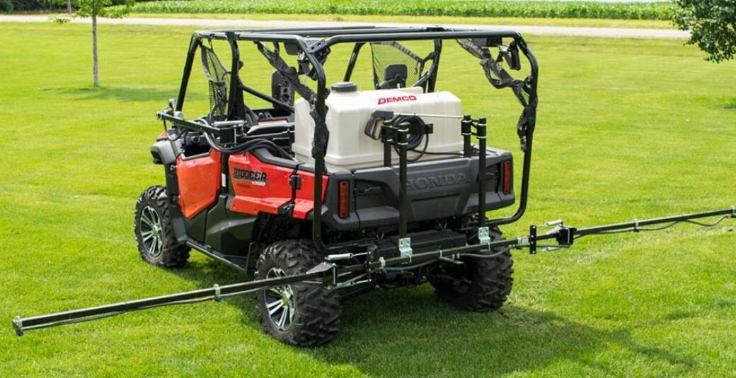 60 gallon ATV sprayer mounted on Honda® SUV