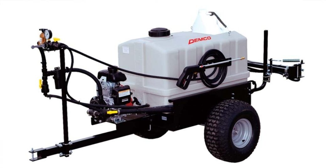 60 gallon ATV pull sprayer with pump