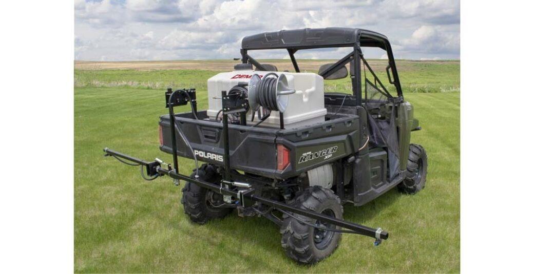 80 gallon Pro Series sprayer on Ranger UTV