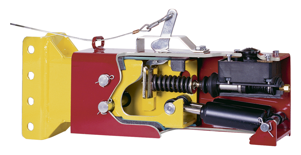 Cutout of a trailer brake actuator
