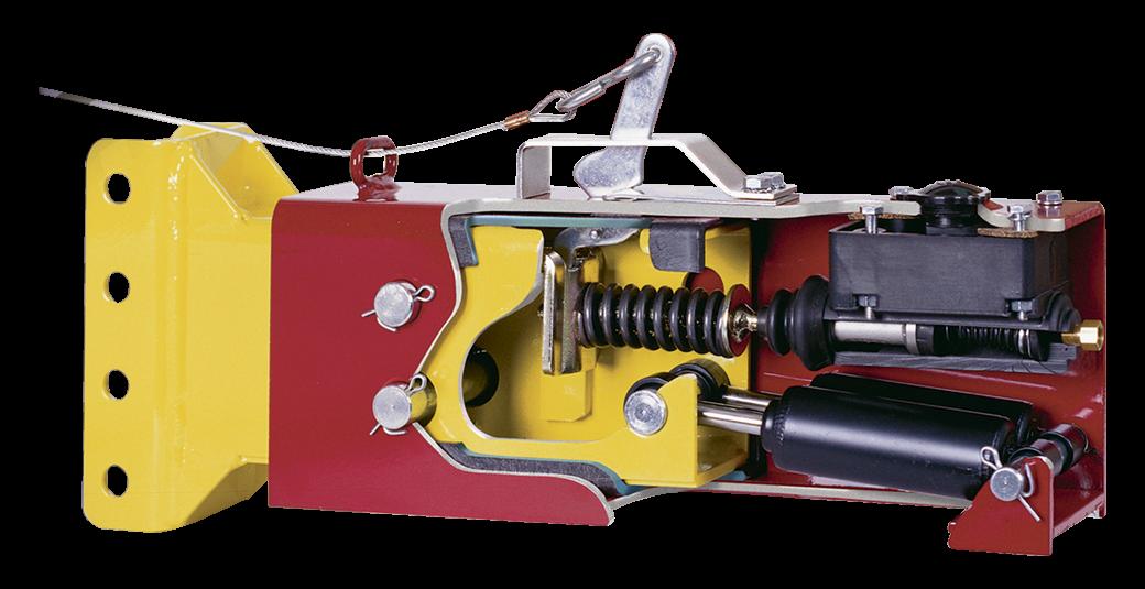 Cutout of a trailer brake actuator