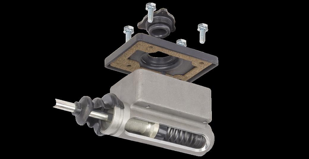 Aluminum trailer brake actuator
