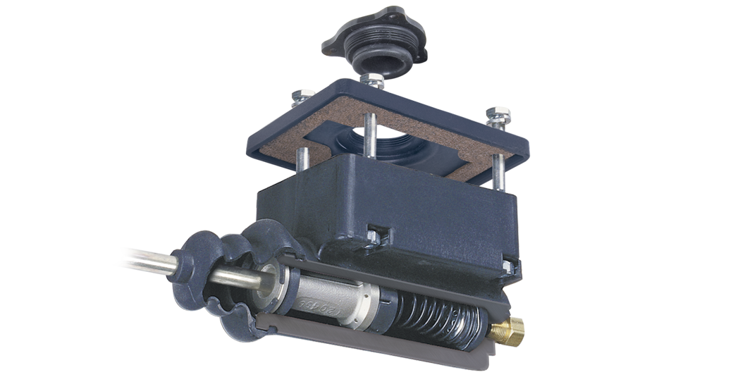 Composite master trailer brake actuator