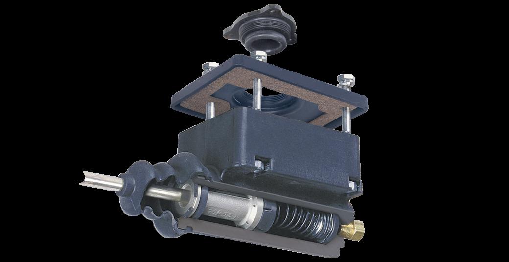 Composite master trailer brake actuator