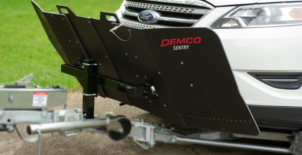 Sentry Deflector for Tow Dolly