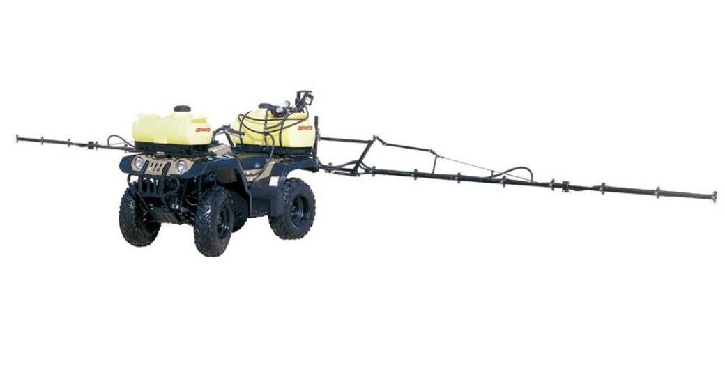 Pro Series 25 gallon ATV dual sprayer