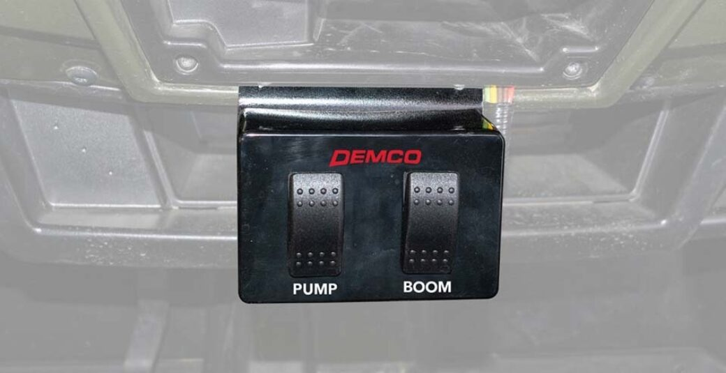 Console for Pump and Boom for Pro Series sprayers