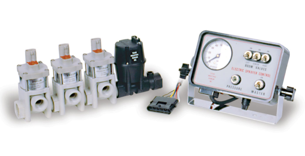 3 Section Solenoid Valve Control