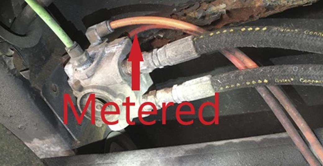 08 Roadmaster Metered Supply line