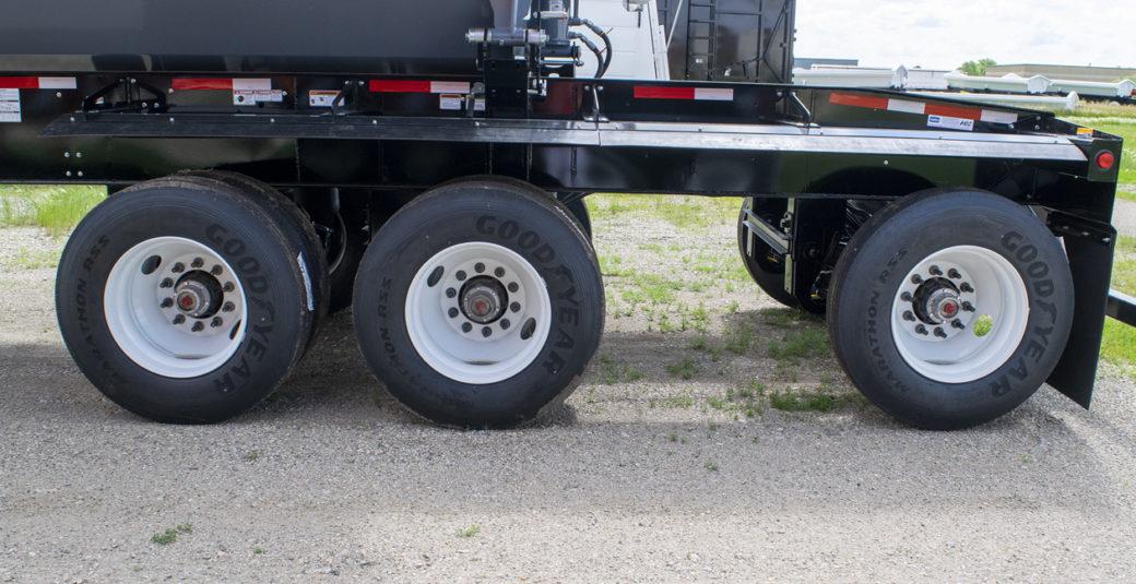 Split Tri Axle