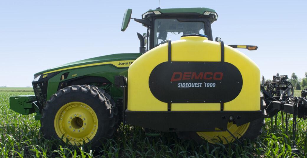 1000 Gallon SideQuest on John Deere tractor