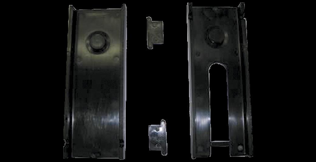 Slide kit for a trailer brake actuator