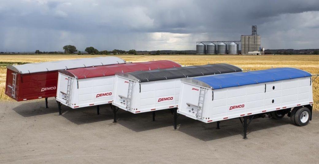 Steel 24' hopper bottom trailer