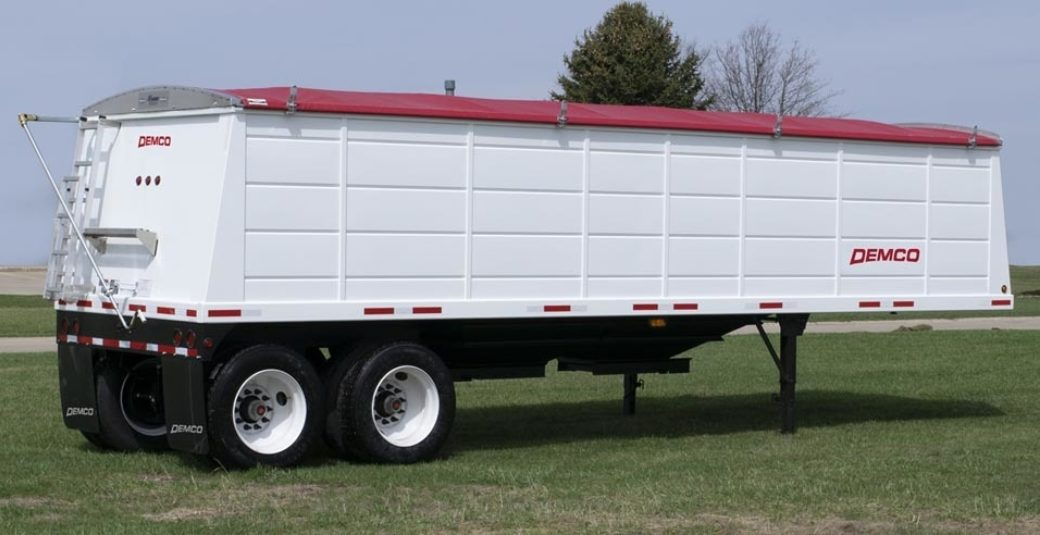 Steel 48' Grain Trailer