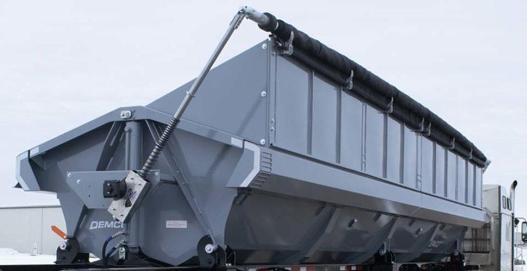 Side Dump trailer with high capacity kit