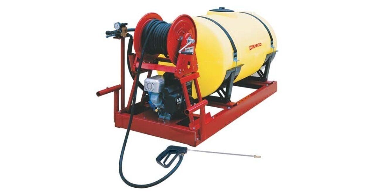 115 Pro Series ATV skid sprayer
