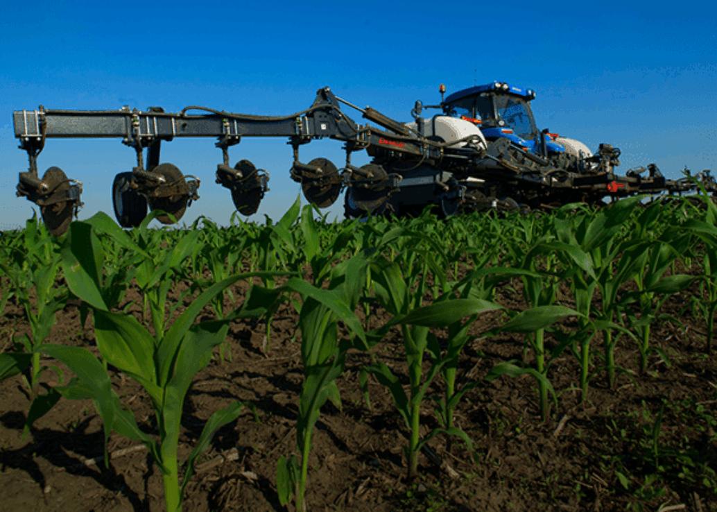 Fertilizer Equipment in Field