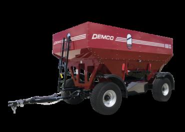 Red Grain Wagon