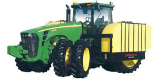 700 gallon tractor with mounted fertilizer tank