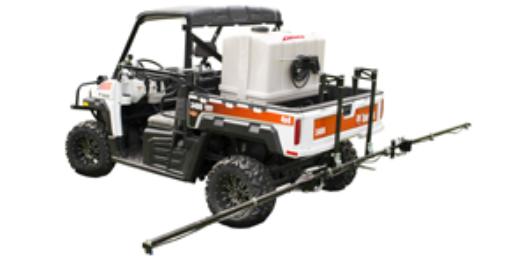 80 gallon Pro Series sprayer on Bobcat UTV