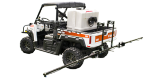 80 gallon Pro Series ATV  sprayer on Bobcat UTV