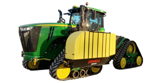 JohnDeere 9RX with Sidequest tanks