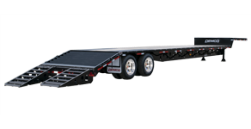 Tandem Axle Drop Deck Trailer