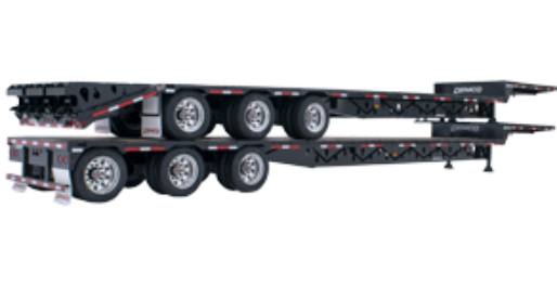 Triple Axle Drop Deck Trailer