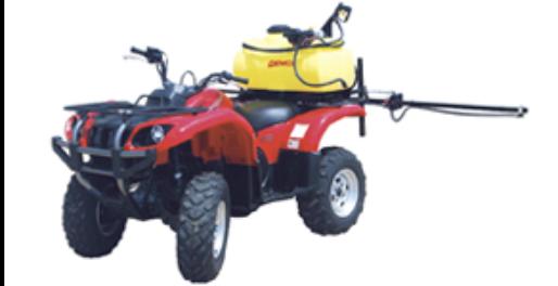 Pro Series 25 gallon ATV sprayer