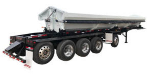 Side Dump with Quint Axles