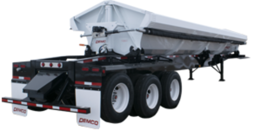 Triple Axle Side Dump Trailer