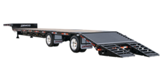 Tandem Axle with Twin Ramps